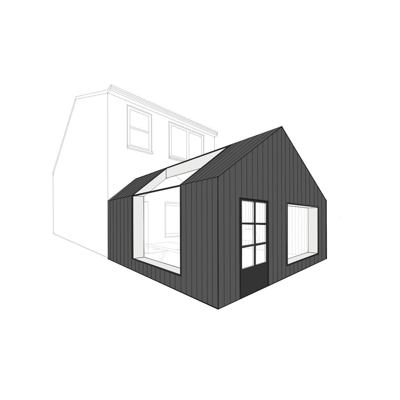 SAH House Ext Visual